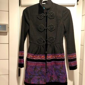 Anthropologie Plenty by Tracy Reese Coat Size 2